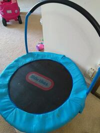 blue and black Little Tikes trampoline Princeton Meadows, 08536