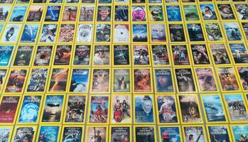 National geographic magazine collection 1957- today