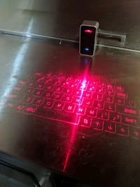 Magic cube lazer keyboard Surrey, V3V 3N6