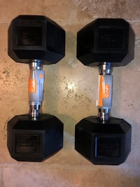 25lbs Dumbbell set (50 lbs in total) Workout equipment