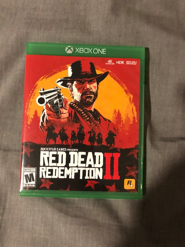Used Xbox one Red Dead Redemption 2 for sale in Acworth - letgo