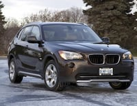 BMW - X1 - 2012 fully loaded with red interior [snow tires included in price] Mississauga, L4W 1B2