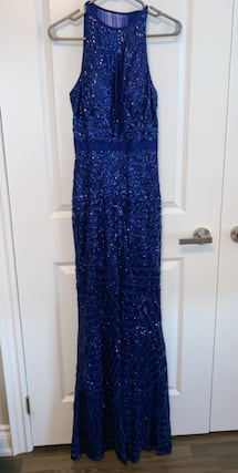Blue sparky night gown  Size 8