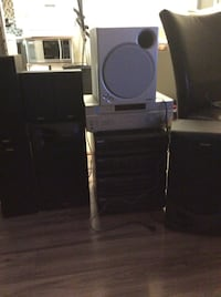 Black and gray home theater system Sherwood Park, T8A 2B7