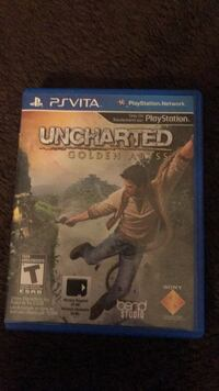Uncharted 4 PS4 game case Mississauga, L5M 0N2