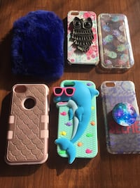iPhone 5c cases 6 for $16 North Babylon, 11703