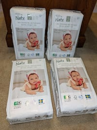 Eco By Naty Premium Disposable Diapers Size 2 - 132 count