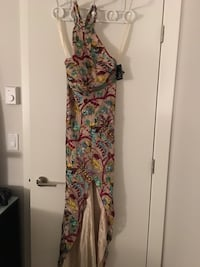Vintage Women's multicolored floral sleeveless dress Vancouver, V5X 4E2