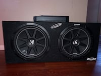 """Subwoofers 12"""" pair w/ JBL AMP Palmdale, 93552"""