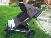 Double stroller - mountain buggy--lots of extras included Vaughan, L4J 2H1
