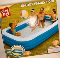 Play Day 10ft Family Pool