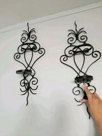2 wall  candle holders Cranston, 02920