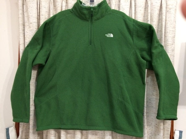 efdd04e38 North Face Men's Waffle Weave 1/4 Zip Fleece Pullover