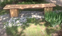 brown wooden bench Laval, H7S 1K6