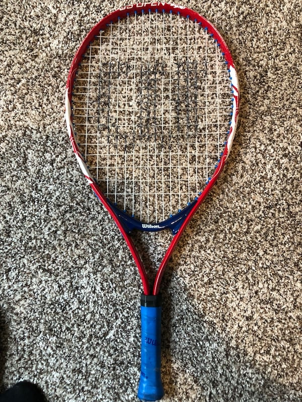 Wilson Red Boy's Youth Tennis U.S. Open Racquet 272e68da-fac6-4113-9815-6f0c37af3079