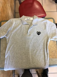 New CDG polo shirt(good condition) large Surrey, V3W