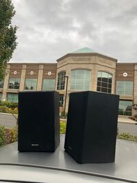 Two Sony Speakers For Sale  New York