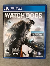 Watch Dogs PS4 (Sony PlayStation 4) - COMPLETE - TESTED Los Gatos