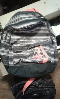 gray and black  backpack Hamilton, L8L