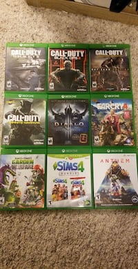 Xbox One Game Bundle Inver Grove Heights, 55076