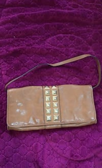 Michael kors Brown Studded Leather Bag New York, 10312