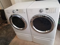white front-load washer and dryer set Wylie, 75098