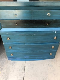 Gorgeous blue dresser.  Old but great shape! Middletown, 45005