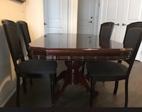 Dining table with 4 chairs Toronto, M9L 3A5