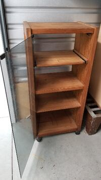 Stereo/Video Entertainment Cabinet with Plenty of Room for Components Mattituck