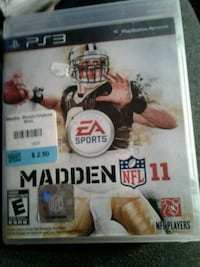 Madden NFL 11 PS3 game  Guelph, N1E