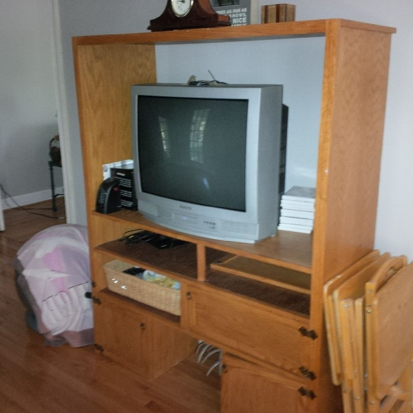 DVD and TV all in one