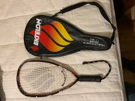 Racketball rackets, I have three rackets in like new condition.