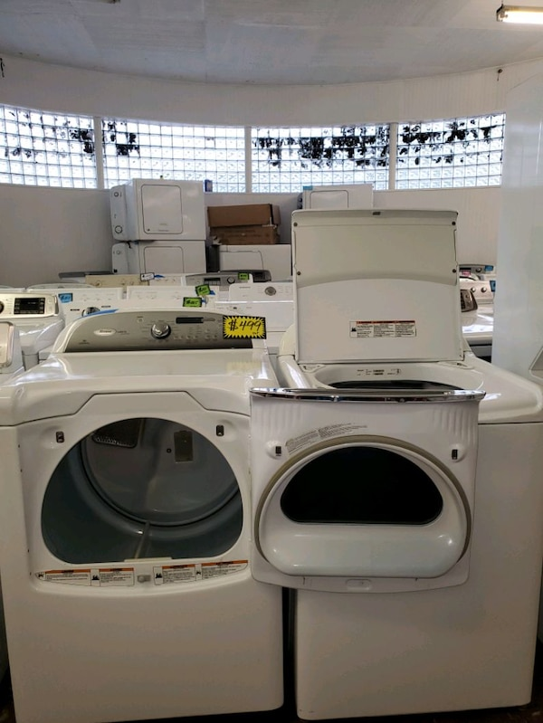 W. Top load washer and dryer set working perfectly a639d448-0f6f-4433-8cc2-2165f2f1a9cb