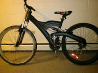 black full-suspension bike Calgary, T2E 2Y5