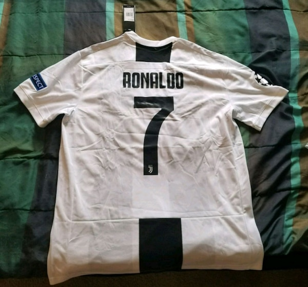 1ee1ac3122d Used Ronaldo Juventus Champions league edition jersey for sale in ...