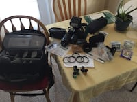 35mm Camera with lenses, filters, flash and bag Ashburn, 20147