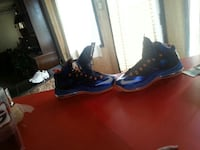 pair of blue Nike basketball shoes Hephzibah, 30815