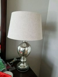 white and brown table lamp Wilton, 95693
