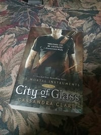 City of Glass by Cassandra Clare book