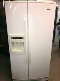 white side-by-side refrigerator with dispenser Anaheim, 92807