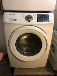 Samsung Front Loader washer and dryer set! You're going to want to bring a few people to remove this. Obviously they are kind of heavy. A hand truck or something to get them out of the house may also be necessary. West Orange, 07052