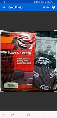 K&N  RE-0930 Universal Clamp-On AIR FILTER Seattle, 98134
