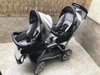baby's black and gray stroller Los Angeles, 91331