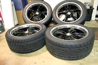 """BOSS 18"""" wheels, Nitto NT555 Extreme ZR tires 50 km"""