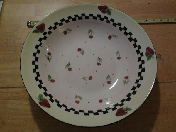 Used Los Angeles Pottery Laurie Gates Design 14 Bowl For Sale In