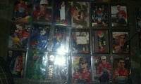 racing trading card collection