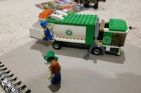 Lego Trash Truck Recycle Truck - Rare