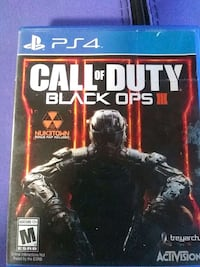 Console game ps4 black ops call duty  Fontana, 92336