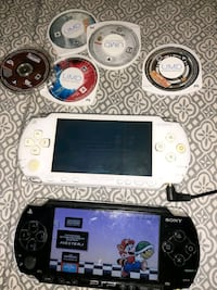 2 modded psps and games bundle