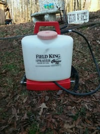 Field King sprayer Roundup Pro Afton